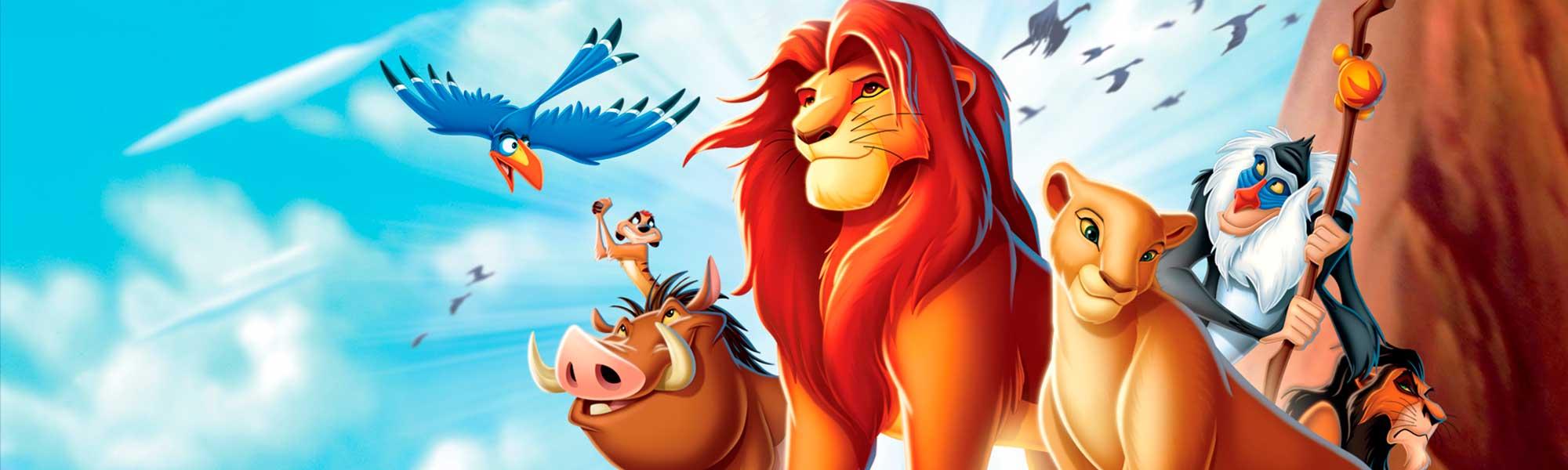 dibujos para colorear al rey leon