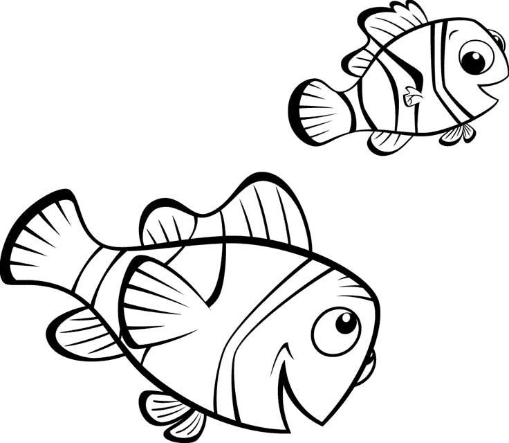 Nemo para imprimir Imagenes para imprimirDibujos para imprimir
