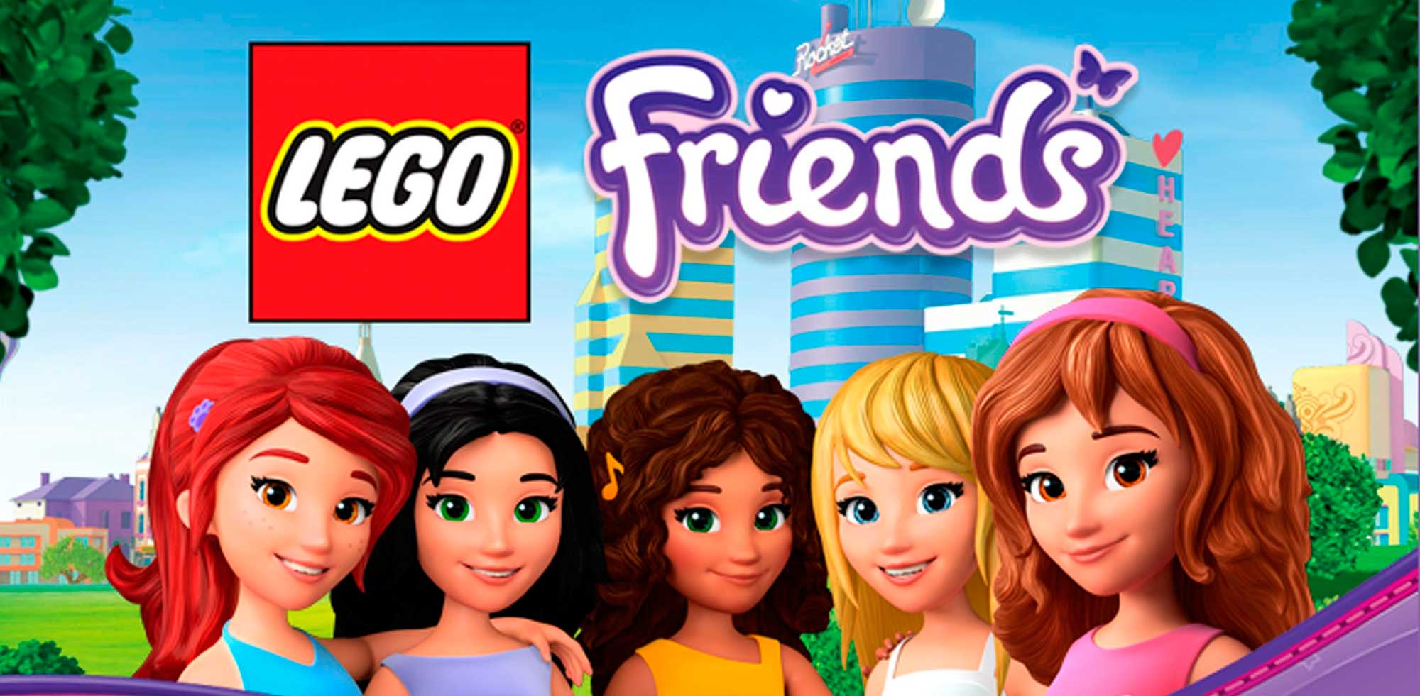 Lego Friends dibujos para colorear