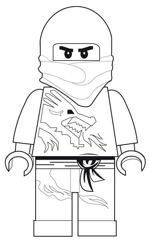 lego ninjago ninja dibujos colorear - Dibujalandia