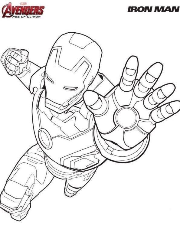 dibujo iron man para colorear gratis. the invincible iron man ...