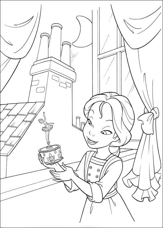 dibujos colorear campanilla  Dibujalandia
