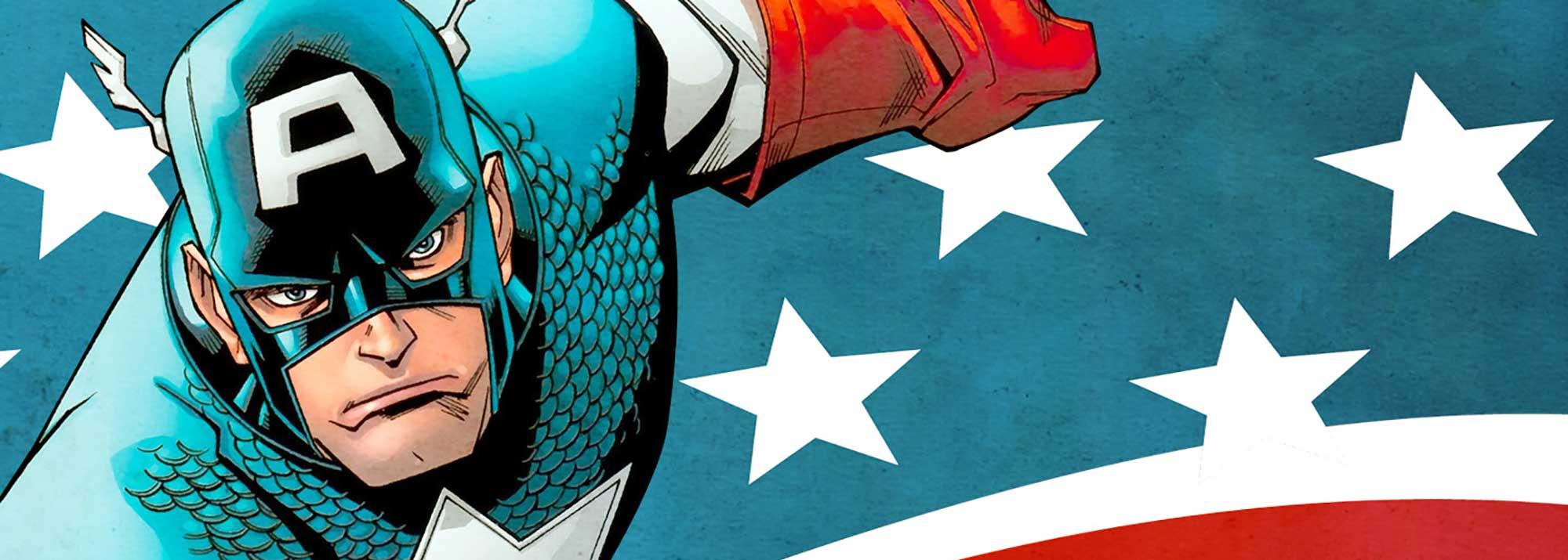 Capitan America dibujos para colorear