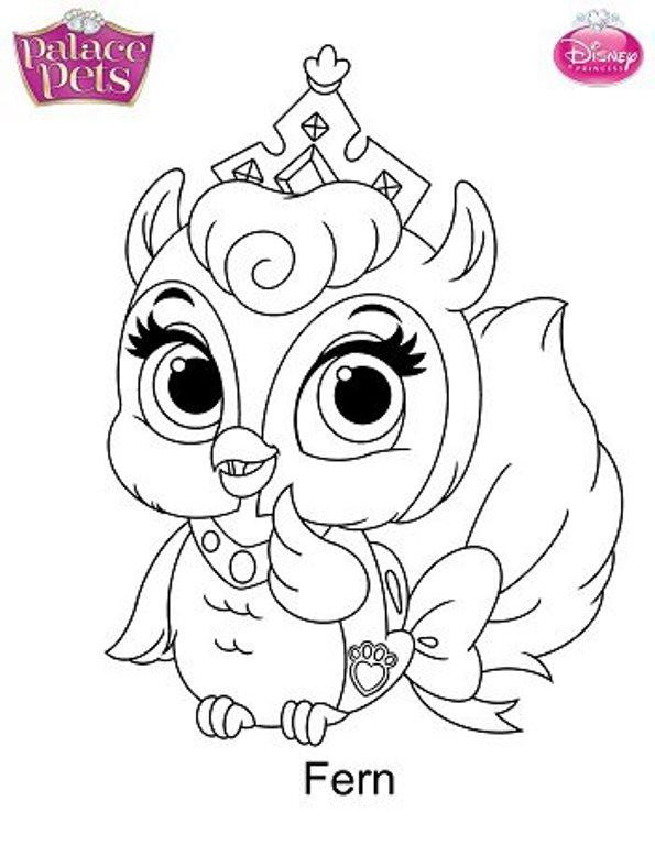 Fern Mascota Disney Dibujo Colorear