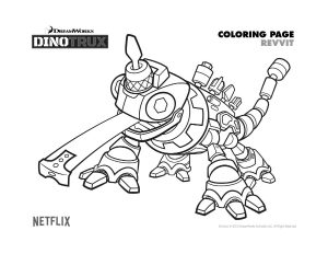Dibujos para colorear de dinotrux for Dinotrux coloring pages