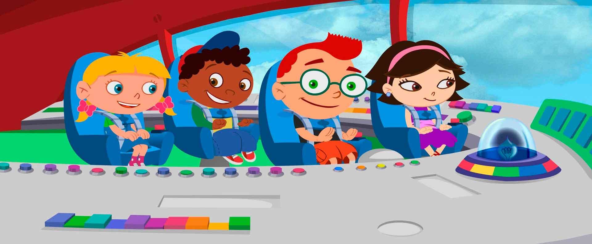 Asombroso Little Einsteins Para Colorear Galería - Ideas Para ...