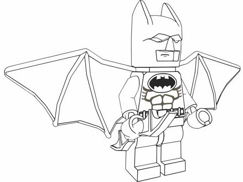 Lego Marvel Batman Dibujos Colorear