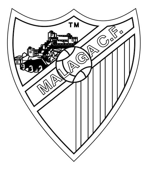 malaga-escudo-de-futbol-colorear - Dibujalandia