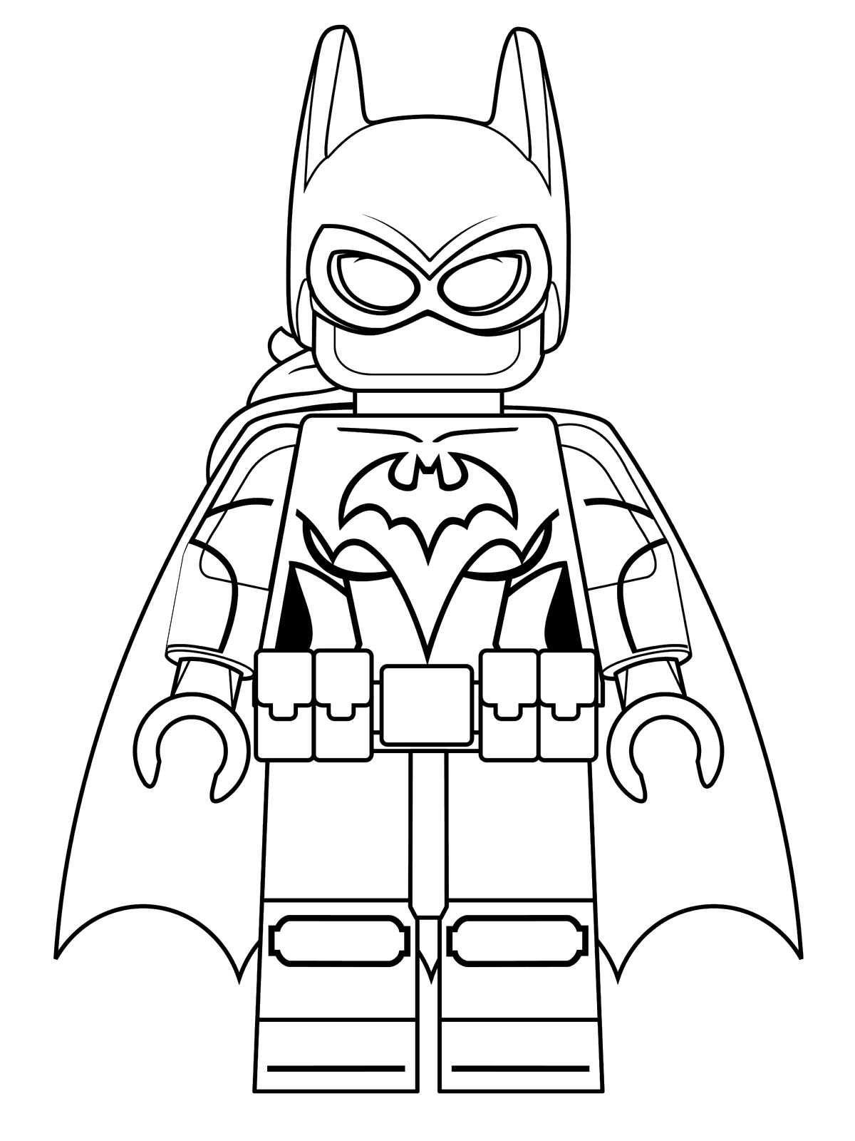 batgirl lego batman pelicula dibujos colorear - Dibujalandia