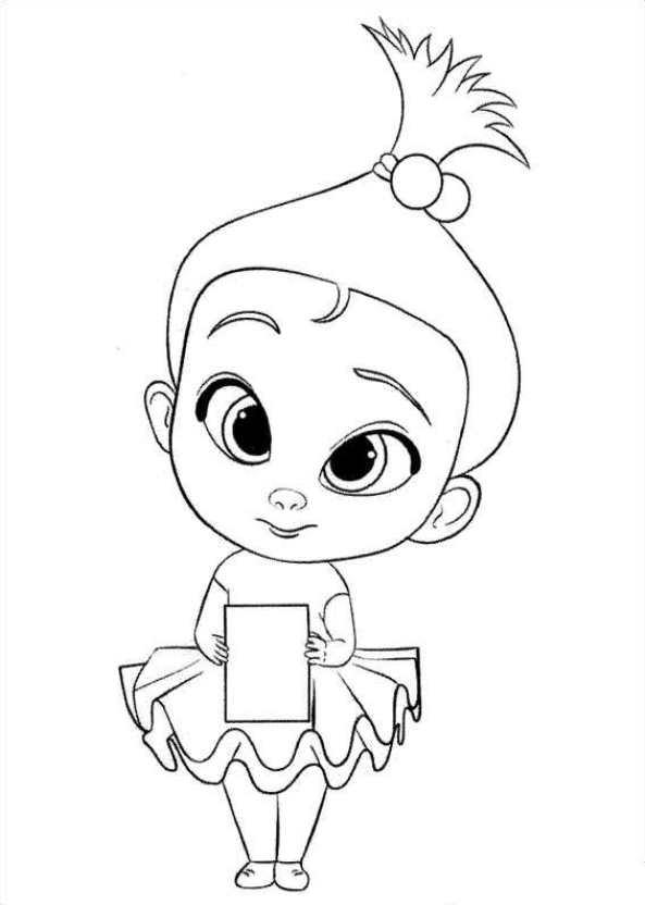 Excepcional Bebé Sin Dientes Para Colorear Imagen - Dibujos Para ...