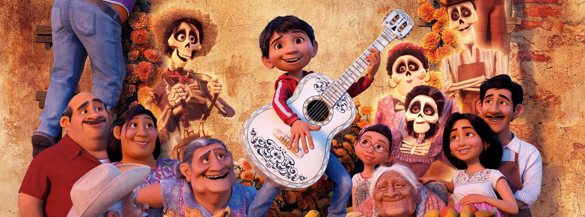 Miguel Coco Para Colorear: Coco Disney Dibujos Para Colorear