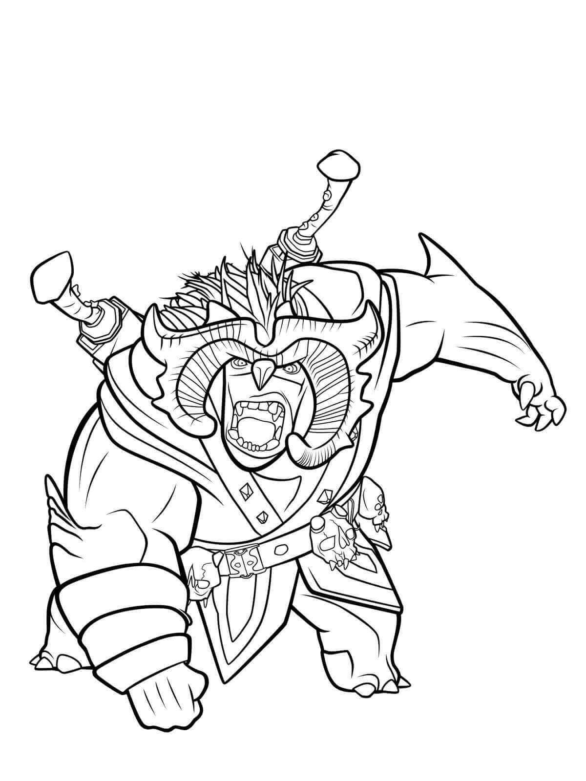 Trollhunters cazadores de trols dibujos para colorear e imprimir ...