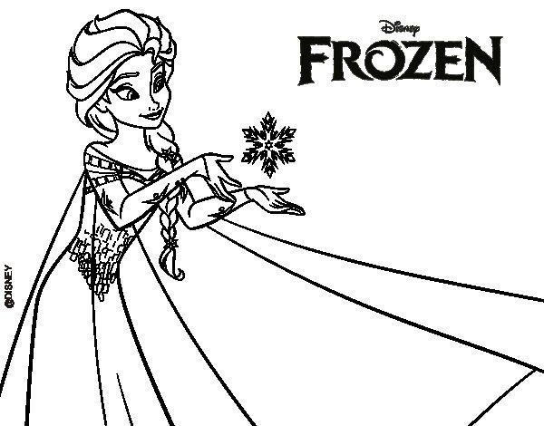 Frozen Elsa Y Ana Dibujos Para Colorear