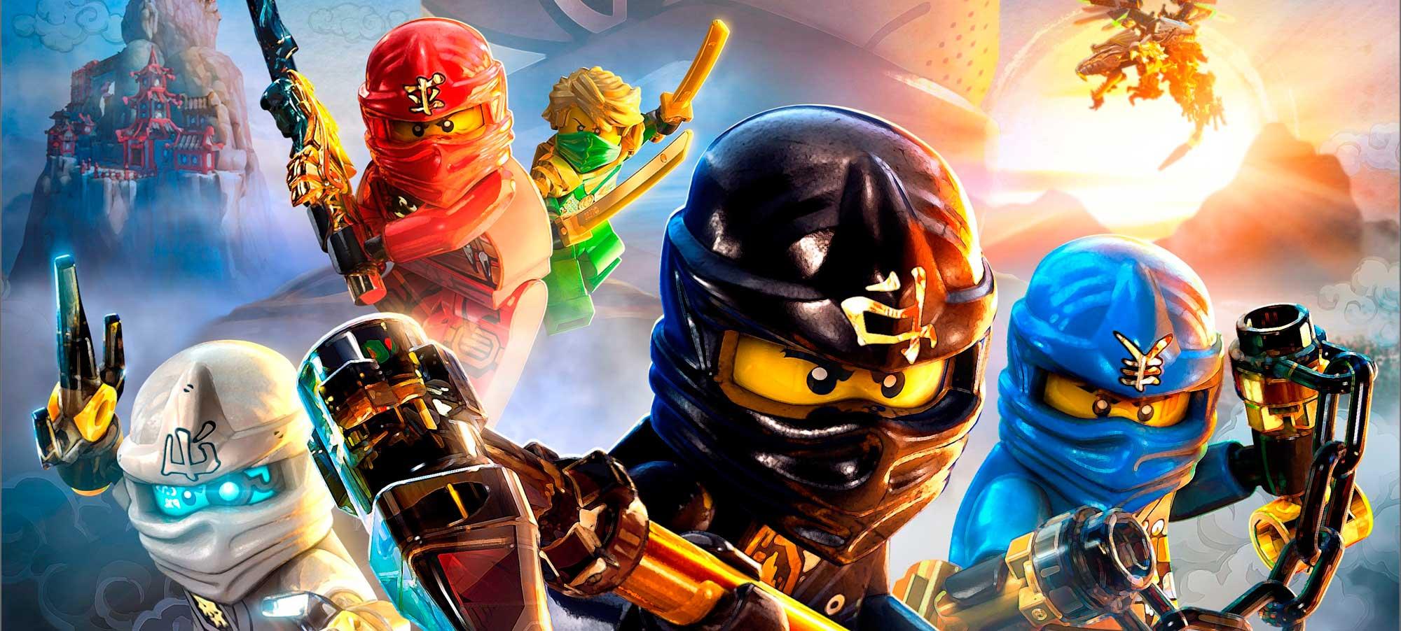 Lego Ninjago dibujos colorear