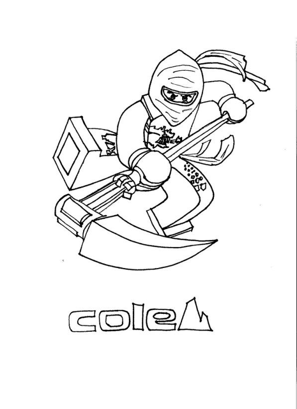 lego ninjago cole dibujos para colorear - Dibujalandia