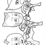 Pj masks dibujos para colorear