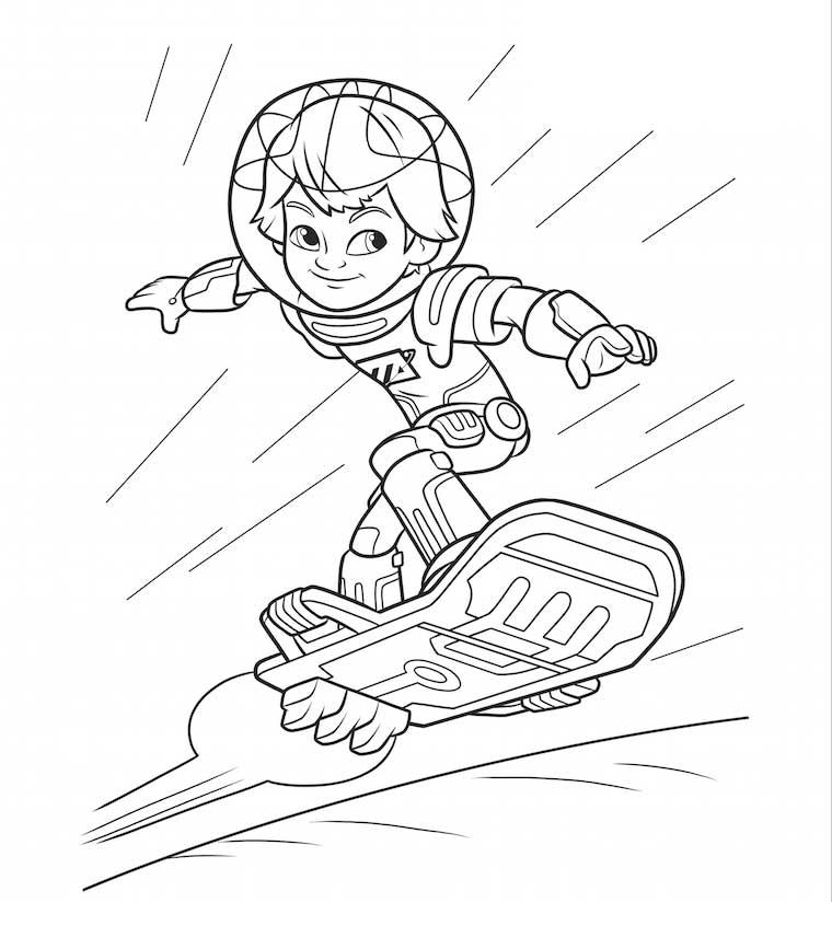 Miles Del Futuro Surfing Dibujalandia