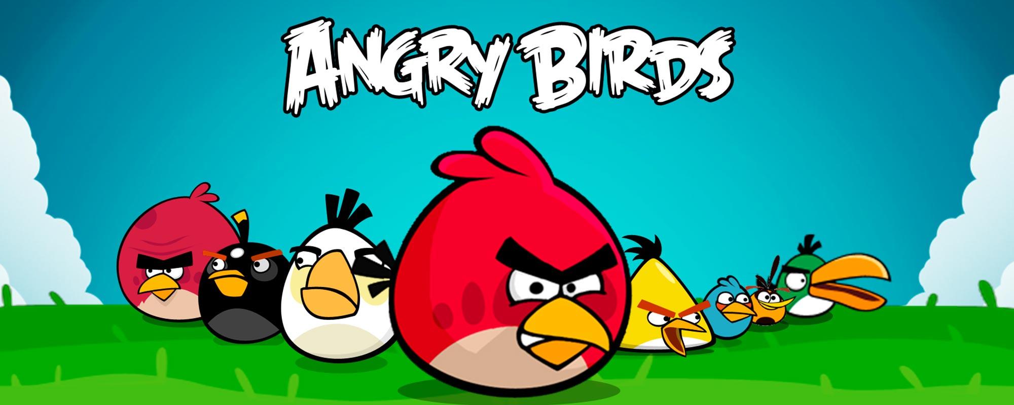 Angry Birds dibujos para colorear