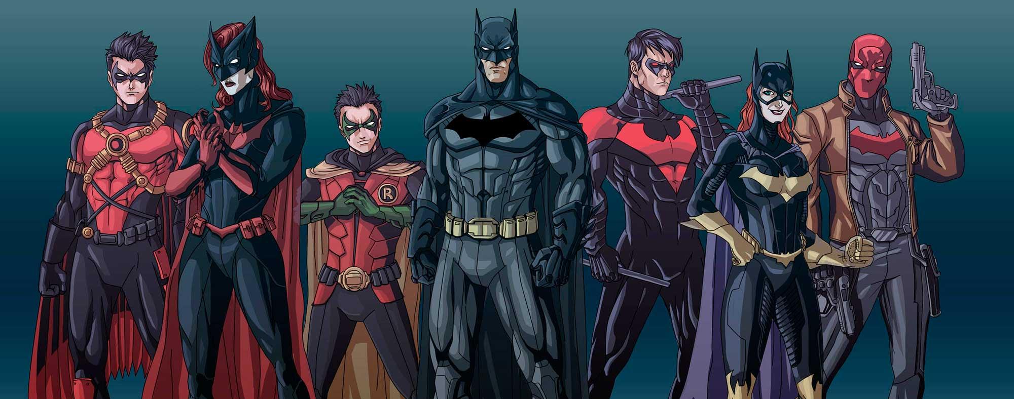 Batman dibujos para colorear