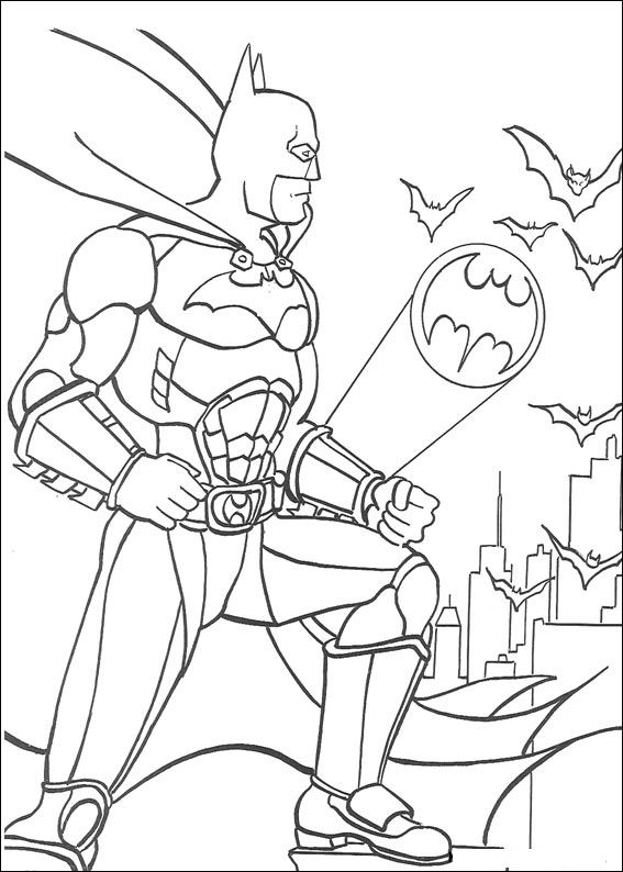 Batman Liga De La Justicia Dibujos Colorear Dibujalandia