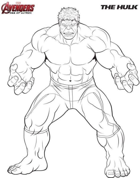 hulk los vengadores - Dibujalandia