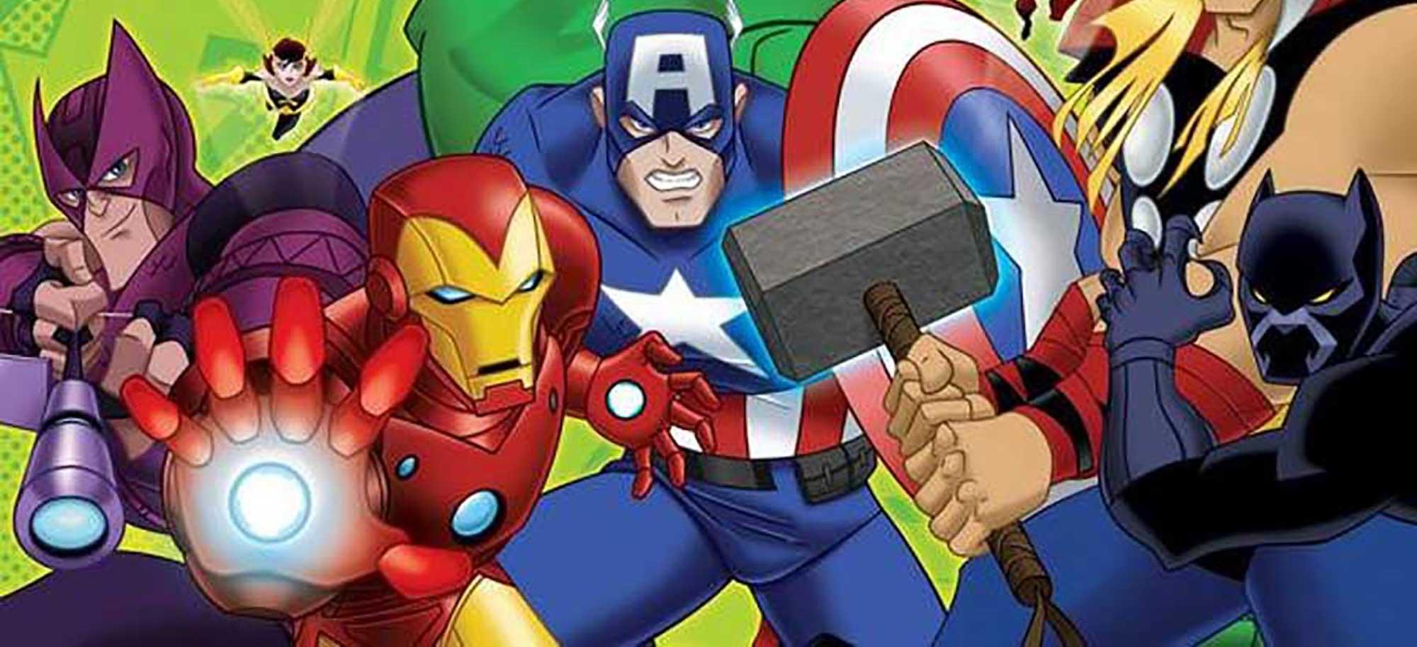 Los Vengadores, Dibujos Para Colorear
