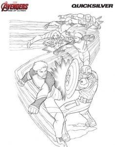 Los Vengadores Dibujos Para Colorear