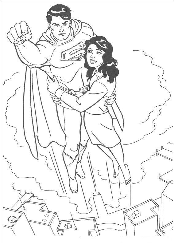 Superman Clark Y Loise Dibujalandia