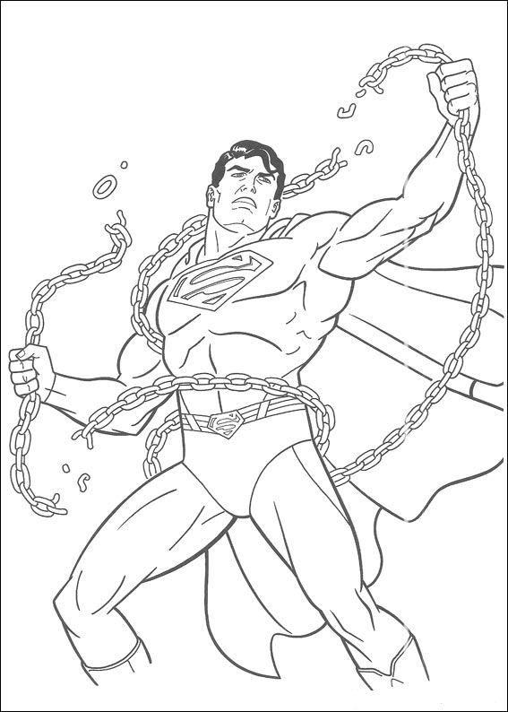 superman dibujos para colorear - Dibujalandia