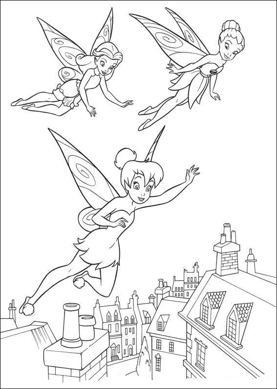 Dibujos Colorear Mundo Campanilla Dibujalandia