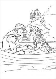 Enredados Rapunzel Dibujos Colorear