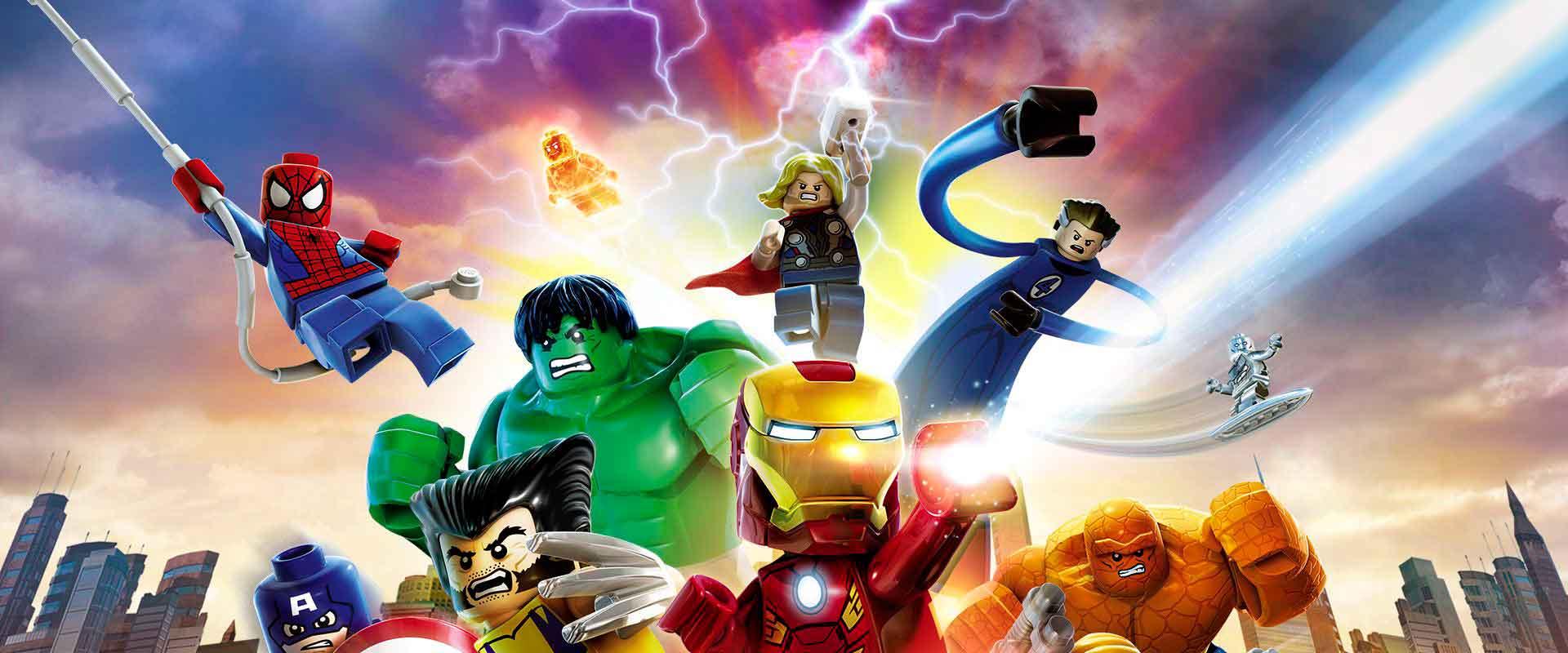 Lego Marvel Los Vengadores