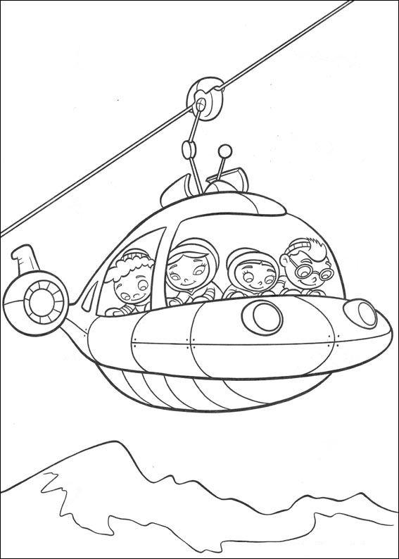 grupo little einsteins dibujos para colorear - Dibujalandia