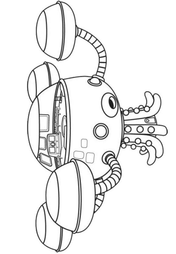 nave octonautas dibujos para colorear - Dibujalandia