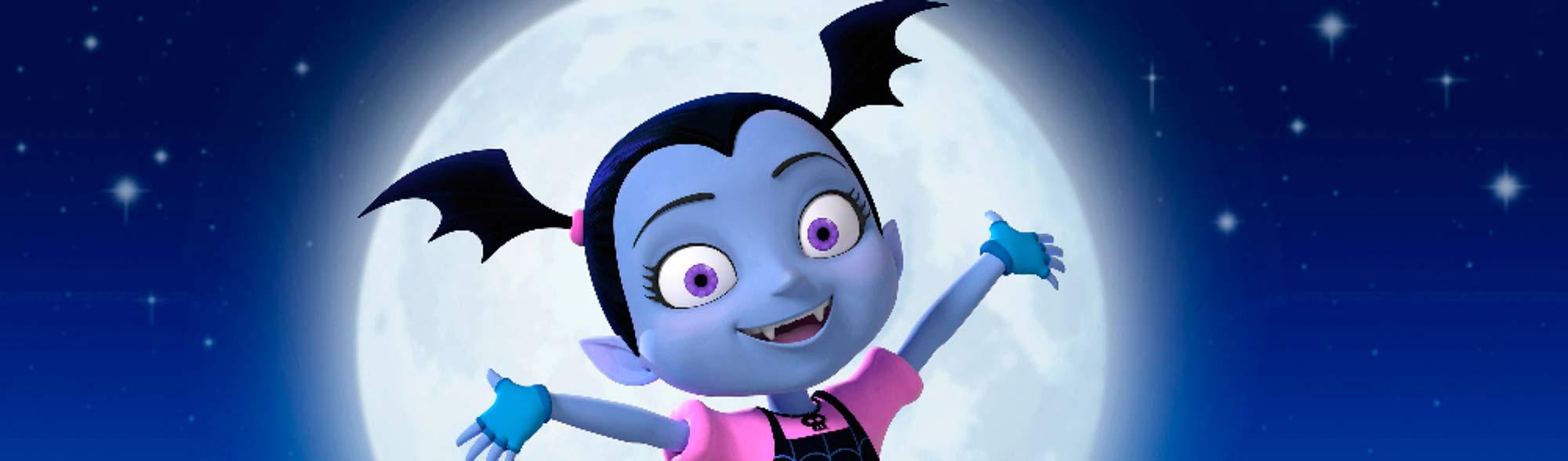 Vampirina Disney Dibujos Colorear