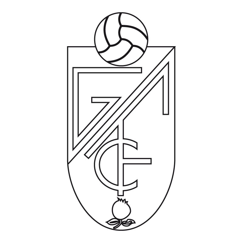 Granada Escudo De Futbol Colorear Dibujalandia