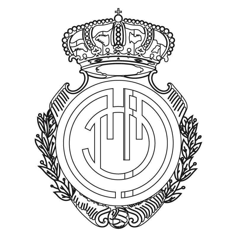 Escudos De Futbol Para Colorear