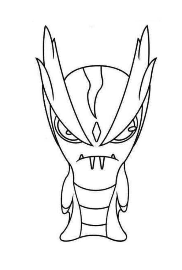 slug-diablo-de-slugterra-dibujos-colorear - Dibujalandia