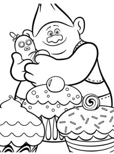 Trolls La Pelicula Dibujos Para Colorear
