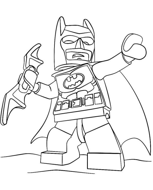 batman lego pelicula dibujos colorear e imprimir - Dibujalandia