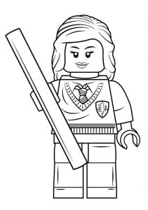Dibujos Colorear Lego Harry Potter