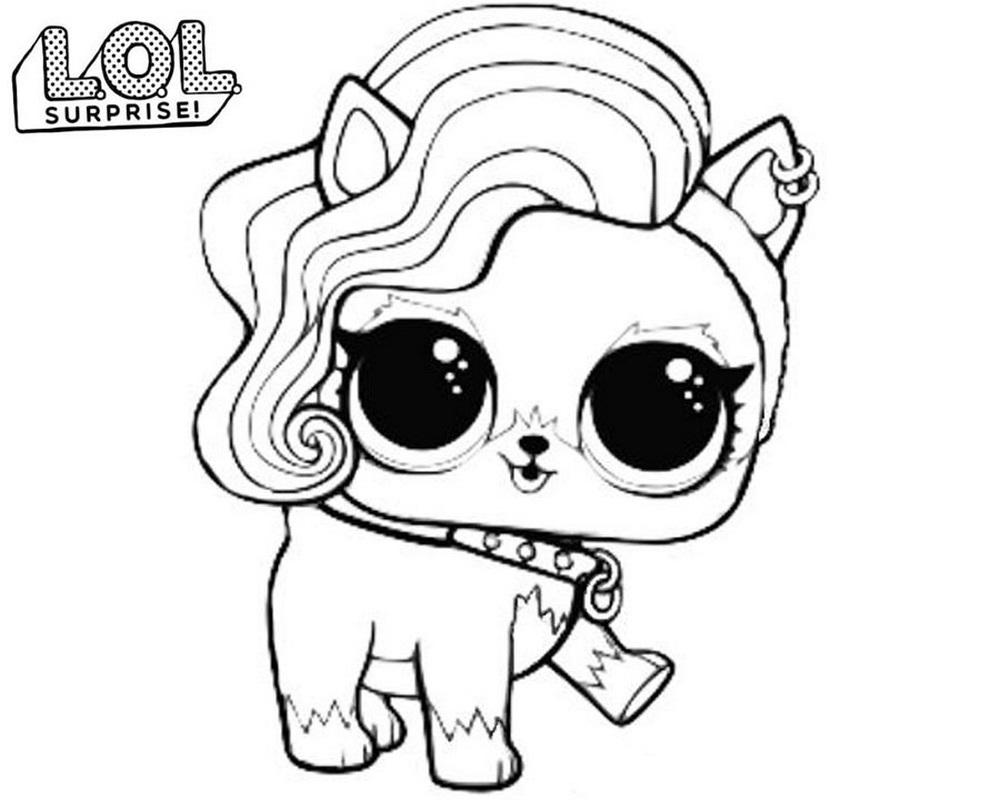 Pet Lol Surprise Dibujo Para Colorear E Imprimir Dibujalandia