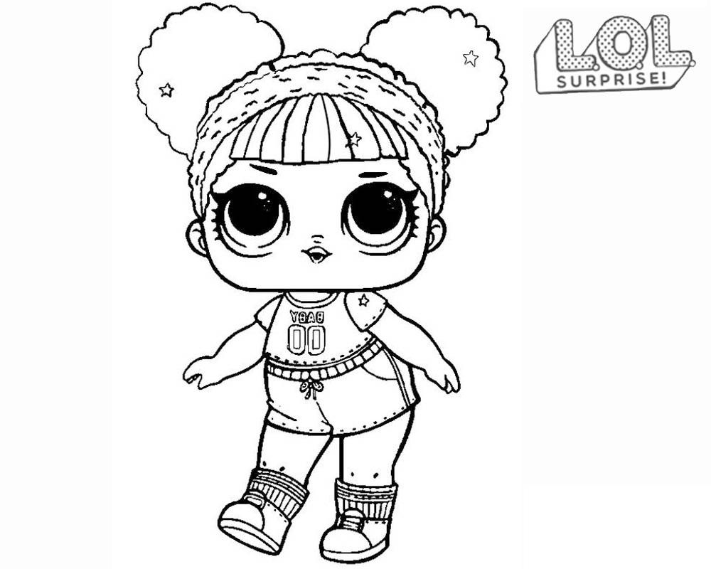 Queen Bee Lol Surprise Dibujo Para Colorear E Imprimir Dibujalandia