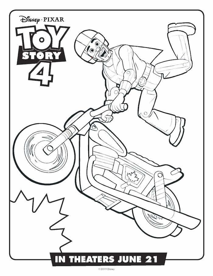 Toystory 4 Dibujos Para Colorear Duke Caboom Dibujalandia