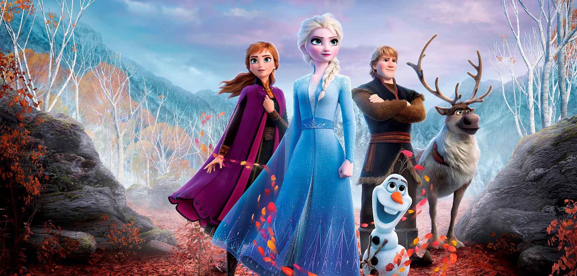 Dibujos Para Colorear De Frozen 2