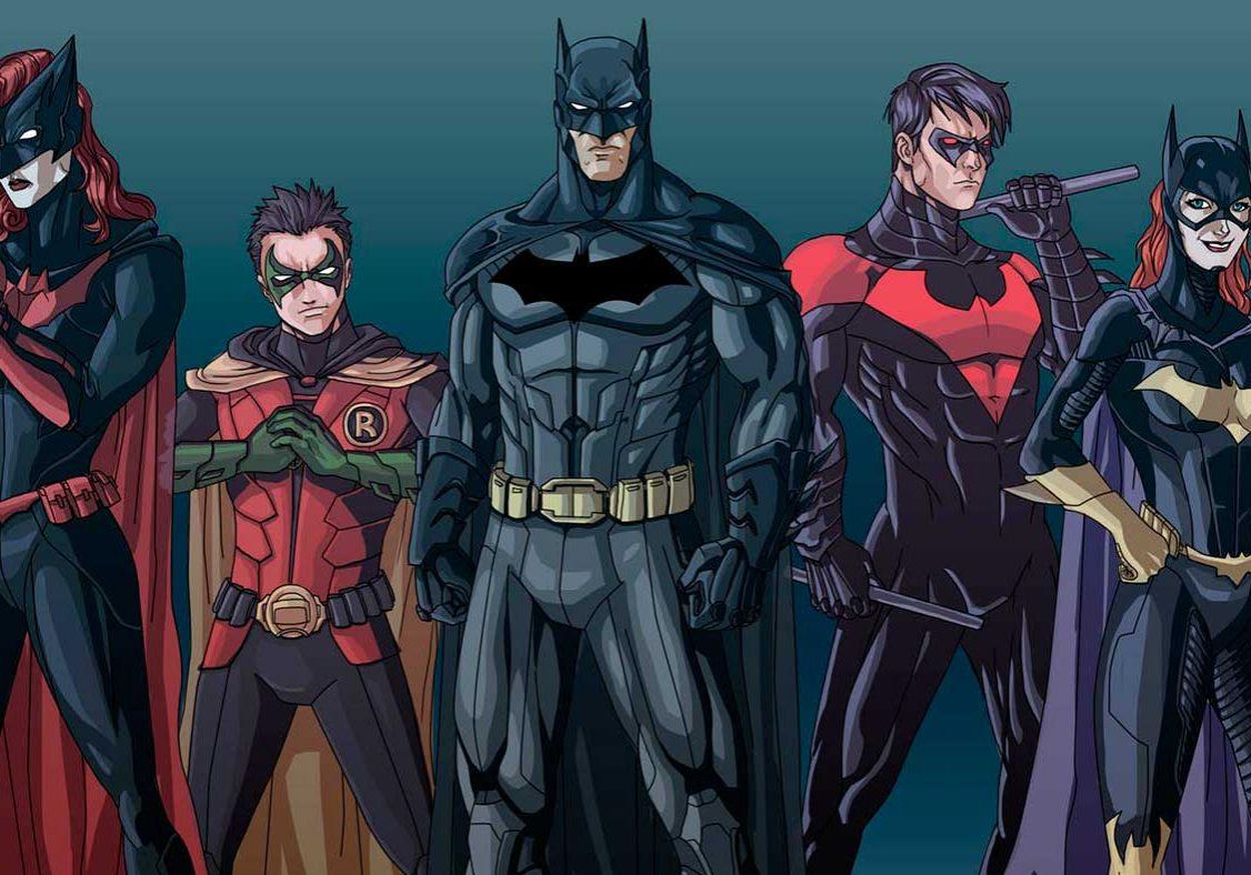 Batman dibujos para colorear personajes